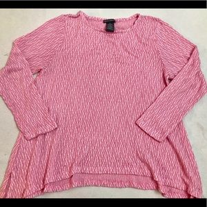 Ladies Pink knit sweater